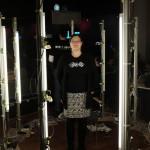 Claudia im 3D-Scanner