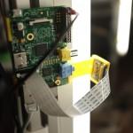 Ein Pi mit Kamera im 3D-Scanner