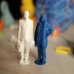 Menschen aus dem 3D-Drucker