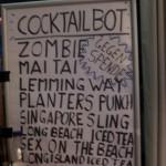 Ergebnisse des Cocktailbot